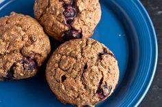 blueberry buckwheat bake muffins