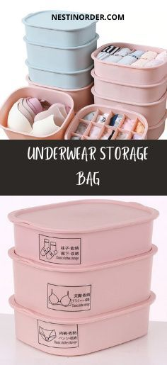 Unicque solution for travel and home underwear storage. Thanks to the firm material of the organizer your underwear will always be in good shape! :) #underwearorganization #closetorganization #nestinorder Underwear Storage, Underwear Organization, Dresser Organization, Bag Sale, Bag Storage, Shape, Bags, Travel, Handbags