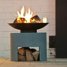 Our Small Fire Bowls & Fire Pits create a romantic atmosphere, perfect for summer evening on the patio heater with Free Delivery available at The Farthing.