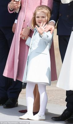 Royals & Fashion: 70 years of King Carl Gustav - ceremony in the courtyard of the Royal Palace
