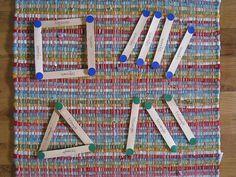 Geometría con palitos de polos