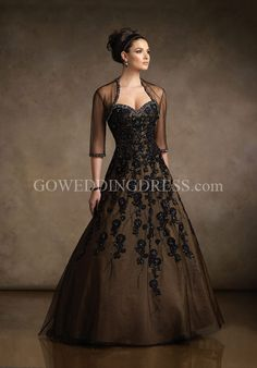 Ball Gown Sweetheart Floor Length Sweep Tulle/ Taffeta Beading/ Lace Mother of the Bride Dress Style R21044