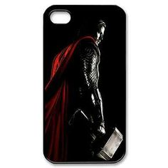 thor the god of thunder for iPhone 4 4S 5 5S 5C case cover 07231