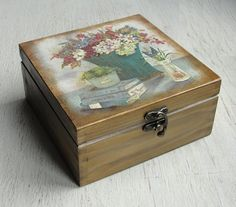 Wooden tea box. Tea Storage Box. Tea Bag Box. Tea bag storage.