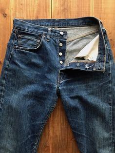 Levis Jean Jacket, Levis Jeans, Vintage Jeans, Vintage Outfits, Denim Shirt, Men's Denim, Ivy Style, Levi's 501, Blue Jeans
