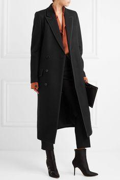 Haider Ackermann | Grosgrain-trimmed wool-felt coat | NET-A-PORTER.COM