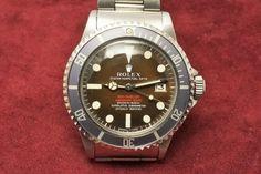 RED sea-dweller Ref-1665 Mark-2 Brown(1967y) 7,230,000 +T 2016.6.6.