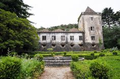 """Quinta da Ribafria""; Sintra, Portugal, location used in the movie ""Mysteries of Lisbon"""