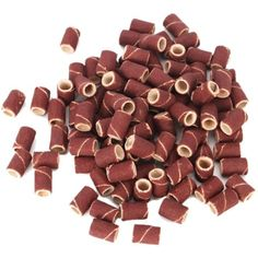 100 Pcs Sanding Bands for Nail Drill Bits Manicure 80 #ToolsAccessories