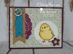 I had so much fun making my chick cards! It's part of the Control Freaks blog hop tonight. I have all the dimensions, ingredients and more photos on my blog here:  http://astampabove.typepad.com/my-blog/2016/03/controlfreaksmar2016.html  Thanks for looking!