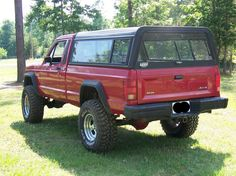 Lifted '89 Jeep Comanche 4x4 for sale or trade w/pics - Georgia Outdoor News Forum