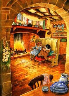 wind in the willows art inga moore Beatrix Potter, Cozy Corner, Whimsical Art, Children's Book Illustration, Book Illustrations, Childrens Books, Illustrators, Cute Pictures, Vintage Children