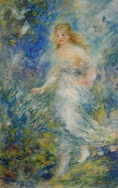 Spring (The Four Seasons) : Pierre Auguste Renoir : Museum Art Images : Museuma