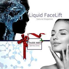 LIQUID FaceLift | Most Natural & Glamorous Facial Treatment for Christmas! ☎ Ηράκλειο 2810301777 ☎ Ρέθυμνο 2831036034 ☎ Άγιος Νικόλαος 2841022860 - - - LIFT προσώπου και λαιμού, Αντιγήρανση, Επαναπροσδιορισμός οβάλ και Αναδόμηση επιδερμίδας με τις πλέον εξελιγμένες Μη-Επεμβατικές τεχνικές της σύγχρονης Ιατρικής Αισθητικής! #χριστούγεννα2019 #christmas2019 #γιορτές #liquidlift #facelift #injectables #fillers #botox #antiaging #αντιγήρανση #λίφτινγκ #πρόσωπο #αισθητική #κρήτη #crete Liquid Facelift, Natural Face Lift, Cosmetic Treatments, Clinic, Cosmetics, Beauty Products, Drugstore Makeup