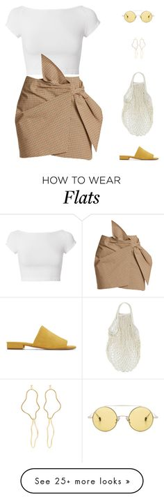 """""""Sol //"""" by prayingtosaintlaurent on Polyvore featuring Helmut Lang, Étoile Isabel Marant, Holly Ryan, Mansur Gavriel and Ahlem"""