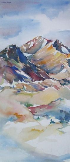 55 Very Easy Watercolor Painting Ideas For Beginners - Page 2 of 4 - FeminaTalk Painting is a real good stress buster. There are hundreds of Easy Watercolor Painting Ideas for Beginners that you can try out without any hassle. Watercolor Painting Techniques, Watercolor Landscape Paintings, Easy Watercolor, Landscape Art, Painting Art, Water Color Painting Easy, Sketch Painting, Water Colour Landscape, Portrait Watercolour