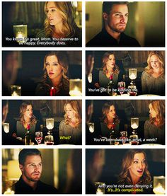 Arrow - Sara, Oliver & Laurel #2.14 #Season2