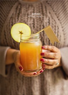 Autumn apple punch: http://www.stylemepretty.com/living/2014/10/01/15-fall-recipes/