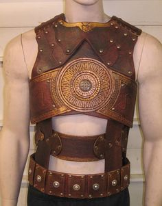 Prince of Persia Leather Cosplay Armor Chest, and Back. $449.99, via Etsy.
