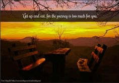 """""""When the Journey is Too Much For You...."""""""