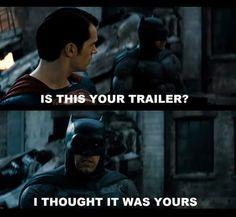 Batman vs Superman trailer.