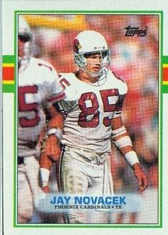 6f9e645cf 1989 Topps  282 Jay Novacek RC Phoenix Cardinals RC Rookie Card Football  Card by Topps.  0.99. Quickly and securely shipped in a soft sleeve