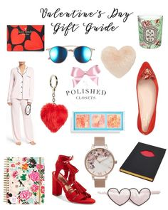 Valentine's Day Gifts for her // http://www.polishedclosets.com