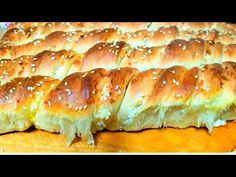 YouTube Tea Loaf, Bread Cake, Spanakopita, Pain, Hot Dog Buns, Muffins, Food And Drink, Cooking, Breakfast