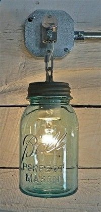 This is a Cool Repurposed Light Idea ! ---- ---- Download the FLEATIQUE APP on the App Store ---- A great resource App for finding Antiques - Flea Markets - Vintage Items - Yard Sales ----- Download FLEATIQUE on the App Store for Iphone 5 , 5s 5c -- repurposing repurpose vintage decor style interior design hgtv home house upcycled upcycling upcycle flea market antique antiques junk gypsy gypsies case repurposed light lighting lights