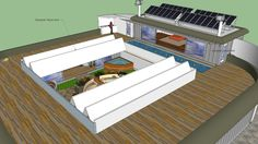 The best shipping container home ever with courtyard, - 3D Warehouse