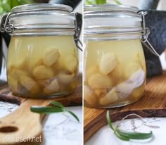 Confit hvitløk og confit tomater