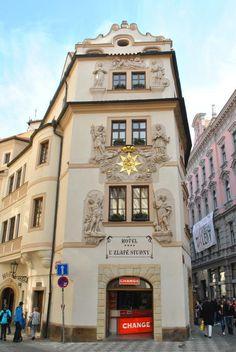 Česko, Praha - Dům u Zlaté studny