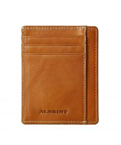 Buy Front Pocket Minimalist Wallet RFID Leather Slim Card Holder - Classic Orange - Vegetable Tanned / - and More Fashion Bags at Affordable Prices. Minimalist Leather Wallet, Fashion Bags, Wallets, Card Holder, Classic, Derby, Fashion Handbags, Rolodex, Purses