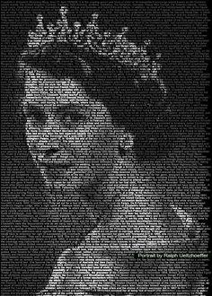 ralph ueltzhoeffer using text to create portraits