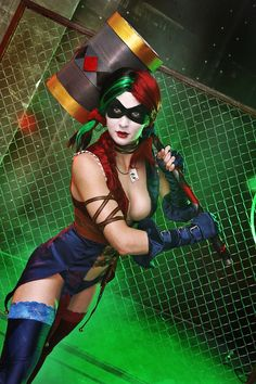 Injustice: Gods Among Us, Cosplay Harley Quinn by AsherWarr.deviantart.com on @deviantART