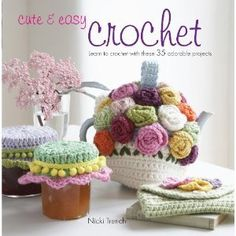 Win a copy of Cute & Easy Crochet. This pattern book includes 35 easy patterns to crochet. Giveaway compliments of Cico Books and AllFreeCrochet.