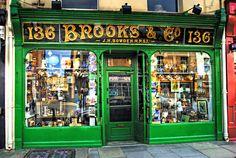 Brooks & Co, Traditional Shop Front - Lower Baggot Street, Dublin
