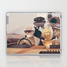 Fear and Loathing on Tatooine Laptop & iPad Skin by Anton Marrast - $25.00
