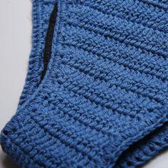 Handmade Boho Style Scalloped Crochet Bikini Set