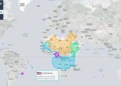 Non La Chine Et Les Etats Unis Ne Sont Pas Aussi Grands Que L