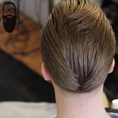 top 50 short men's hairstyles super slick wing back