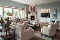 accent colors that go well with dapper tan   Transitional Accent Tables Design Ideas, Pictures, Remodel, and Decor