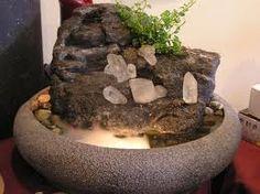A nice tabletop fountain