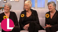The Real Calendar Girls On The New Musical Of Their Story | Lorraine - YouTube