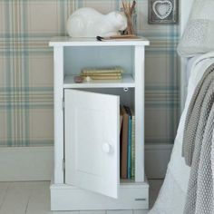 A Beautiful Children's Furniture Collection of Timeless Bedside Cabinets, in a Collection of Classic Colours. Childrens Storage Units, Childrens Bedroom Storage, Childrens Book Shelves, Childrens Bedroom Furniture, White Bedroom Furniture, Kids Storage, Kids Furniture, Kids Bedside Table, Childrens Wardrobes