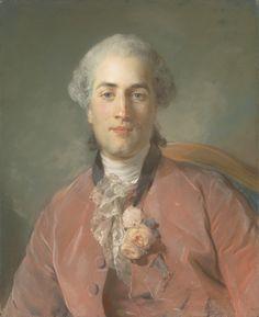 Jean Baptiste Perronneau- Oliver Journu, 1756