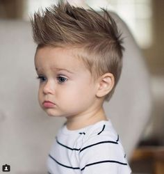 Haircuts For Boys : Haircuts For Boys , Based on the hair kind and the face shape, haircuts vary a good deal. There are some diverse varieties of haircuts that are frequently bestowed upon M. Boys Haircuts 2018, Popular Boys Haircuts, Cool Boys Haircuts, Toddler Boy Haircuts, Little Boy Haircuts, Little Boy Mohawk, Boys Mohawk, Haircut Styles For Women, Short Haircut Styles