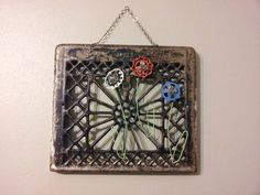 repurposed recycled upcycled heat grate by OriginalPaintingsbyT, $40.00