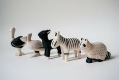 Handmade Wood Animal - Zebra - New Arrivals