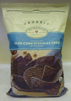 What's Good at Archer Farms?: Archer Farms Blue Corn with Flax Seed Tortilla Chips
